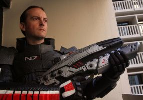 Mass Effect 2 Costume Male 1 by Evil-FX