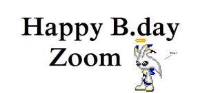 Happy B.day Zoom by chaoman25