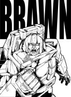 Autobot Brawn by Optimus8404