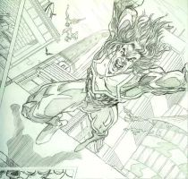 Star Man Leaps by ddcobbs
