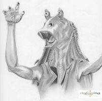 Jar Jar Binks by nathanng