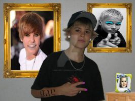Justin Biebers wall by MultiPettan