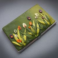 Business card holder Crocus by AHHA