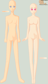 Standing :Original Base: by Pinlicous-Bases