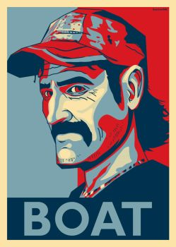 Kenny Boat Poster by SestrenNK