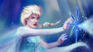 Let it go, HADOUKEN! by artofrussell