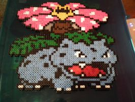 Perler Venusaur by blargofdoom