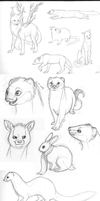 Sketchdump by Avanii