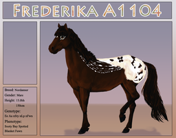 A1104 Frederika by Welshen