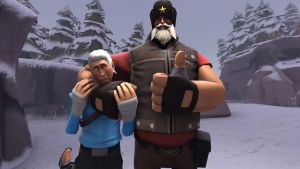 SFM-Jack and North by DarkSora01