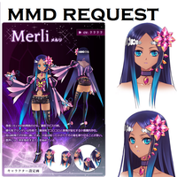 MMD Model Request by LuarantMoon