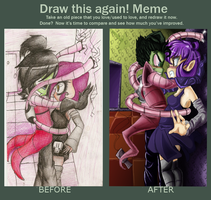 Draw This Again Meme: You're Zims.. by TheGalacticKat