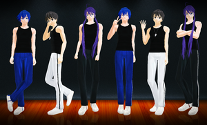 [MMD] Casual Guy Poses - DL by Snorlaxin