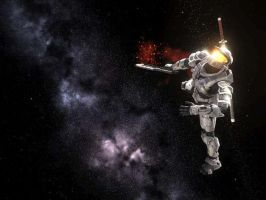Halo Dead Space by Legion117