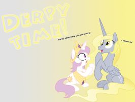 MLP:FiM Derpy time! Wallpaper by DJ-TaviStar