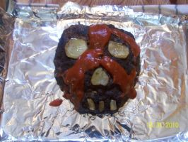 Zombie meatloaf by ShivKit