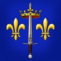Joan of Arc heraldry by dashinvaine