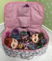 Travel Bag Protective For Two Dolls Blythe by iasio
