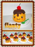 FLANTY The happy flan by Crizthal