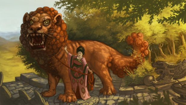 Foo Dog by Camelid