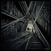 Surreal walkway by Heartbeatsbass