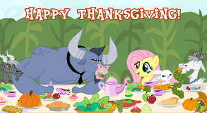 Thanksgiving in the Maize by creepycurse