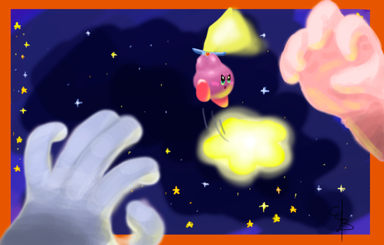 Kirby And The Amazing Mirror by CC3TheArtist