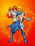 Lina and Gourry In Cosplay by Rikachan85