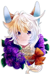 ADOPT EXTRA_Acanti Headshot for Shijinno by kura-ou