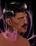 Dorian Necromancer by Snafufun