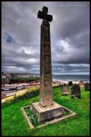 Whitby View From St Marys by GaryTaffinder