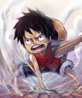 Luffy by Fuka-Enrique