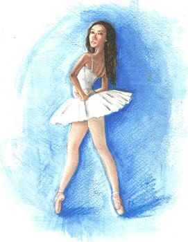 ballet dancer by AdriiUm