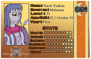 [UofP] Nach's ID Card by distantShade
