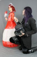 The Red Queen and the Mad Hatter 11 by MajesticStock