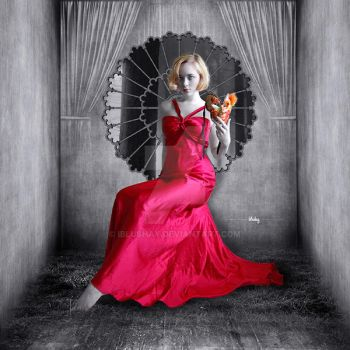 Lady in Red by iblushay