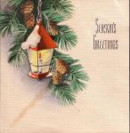 Christmas Card with Lantern by specialoftheweek