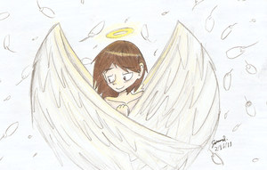 Angel Wings by Mister-Saturn