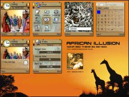 African illusion by chocoboy