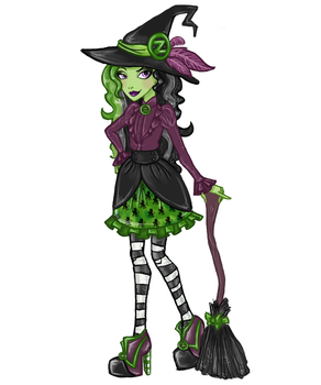 EAH OC: Westlyn Witch by MunchLC