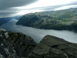Norwegian fiord by lilo2d