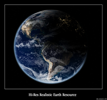HiRes Realistic Earth Resource by WhiteIce89