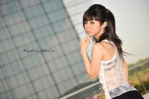 fashion shoot @ MBS (outfit 2) 02 by tiffanYuhan