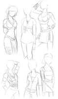 Naruto OC Costume Designs by JBarnzi88