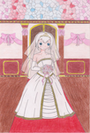 Lisanna's wedding day by Falingten