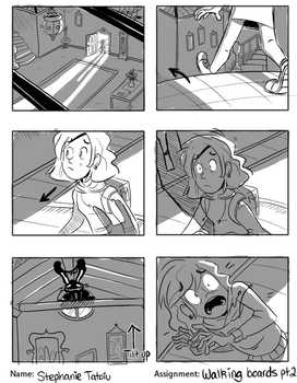 Storyboard Practice 1 by ecokitty