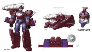 Cybertronian Rampart by TF-The-Lost-Seasons