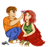 Tyson and Ella by lauu7