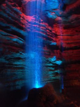 Cave Waterfall by Deviandnny