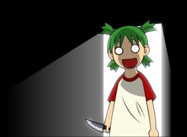 Creepy Yotsuba by Clandestine-Angel